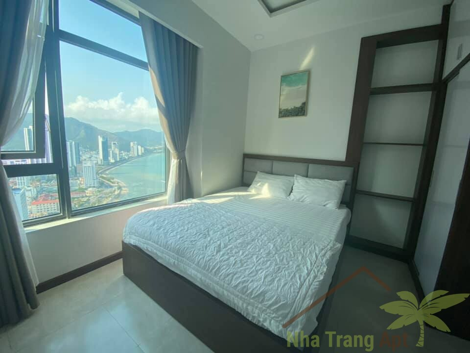 Fantastic 2 bedrooms city sea view for sales at Muong Thanh Oceanus S02
