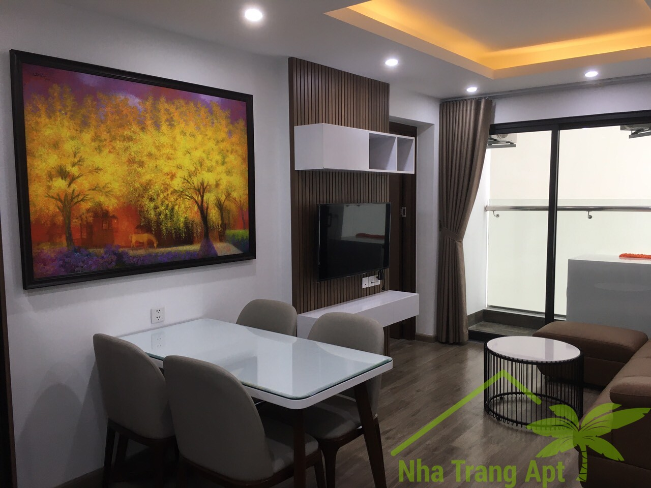2 br apartment for rent in Hud building Nha Trang A612