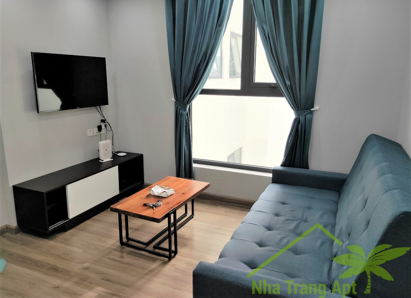 1 br apartment for rent in Hud building Nha Trang A613
