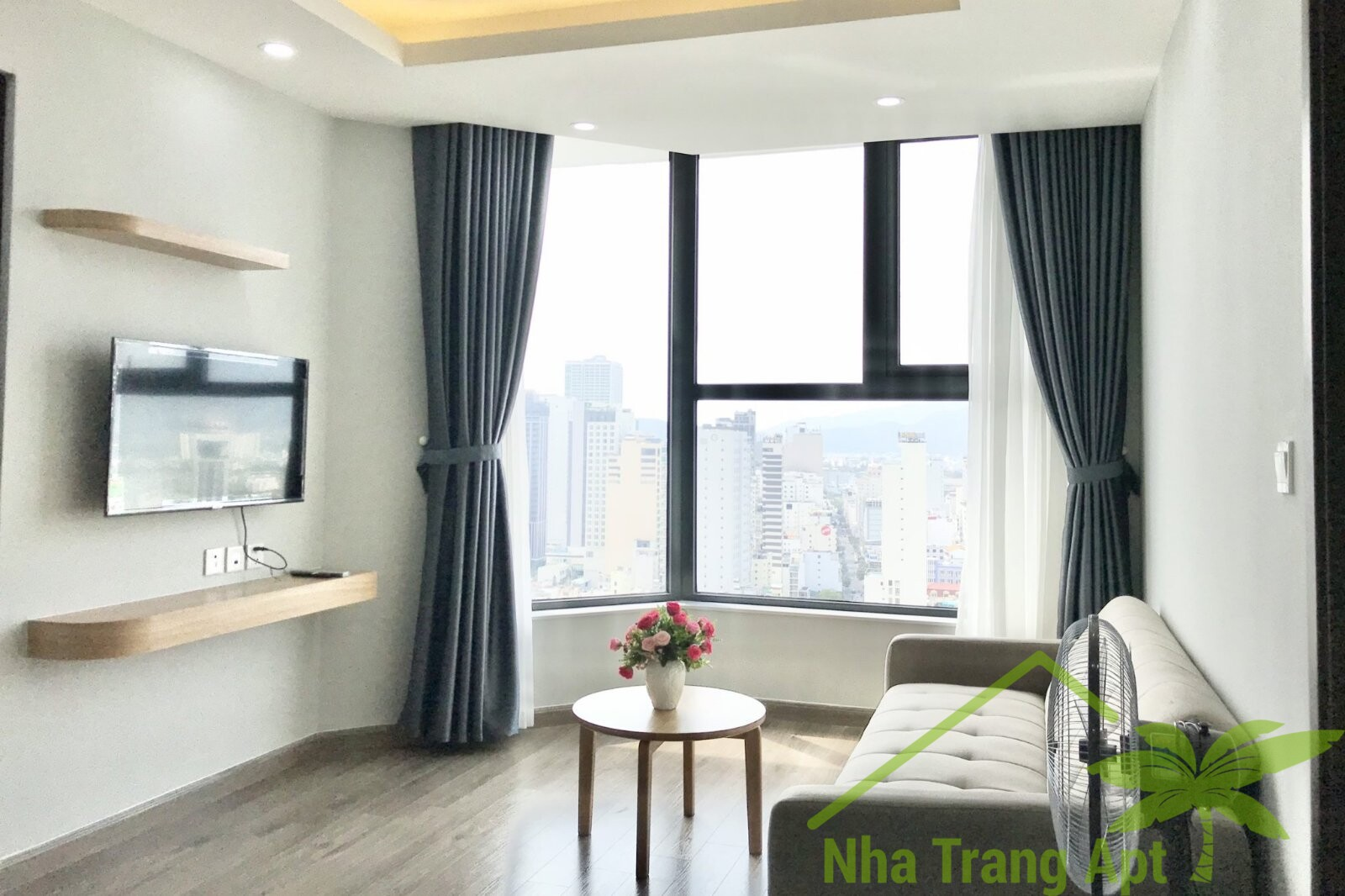 2 br apartment for rent in Hud building Nha Trang A614